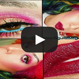 Hot Pink Mineral Eyeshadow Pigments - Glamorous Chicks Cosmetics