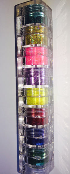 Best Selling Glamorous Chicks Cosmetics 8 Stacks (8 colors) - Glamorous Chicks Cosmetics