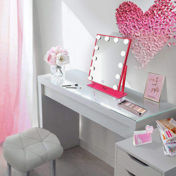 Pink Bestseller Table top Vanity