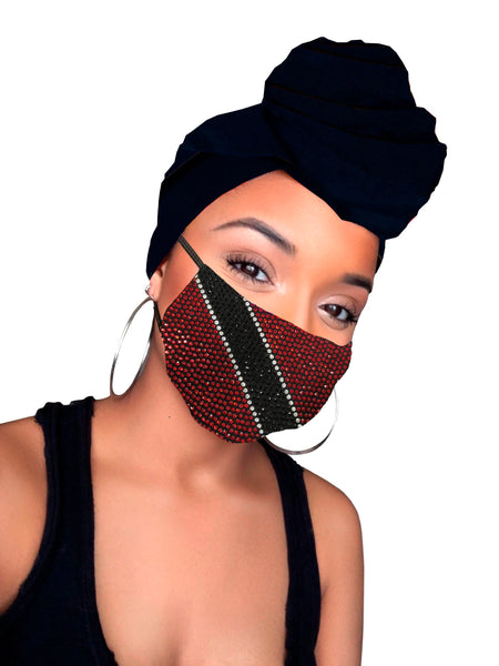 Trinidad headwrap and mask