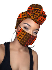 Destiny Headwrap and Face Mask combo