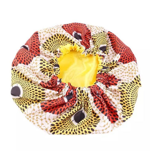 The Braxton - African Print Bonnet