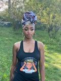 Crown Hair Dress & Akwasi Headwrap