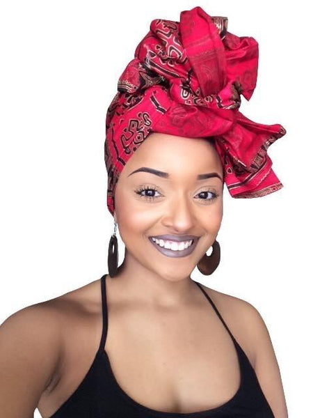 Beyanca Headwrap and Face Mask combo