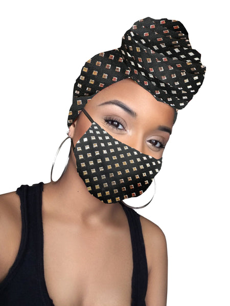 Black diamond Head wrap & mask