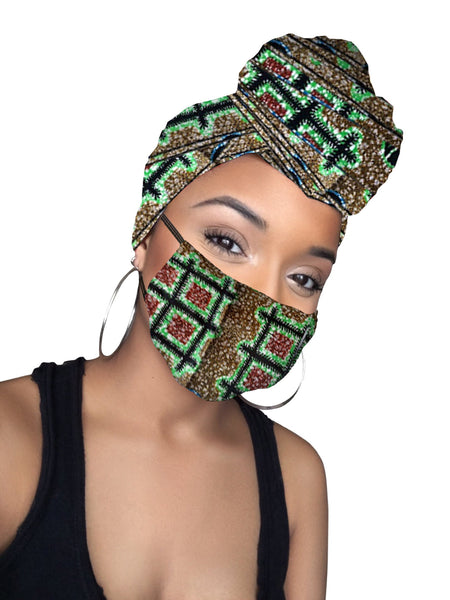 Empress Face Mask ONLY (No Headwrap included)