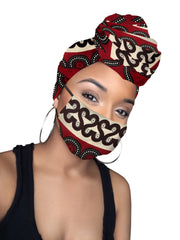 Trafalgar Headwrap and Face Mask combo - Limited Edition