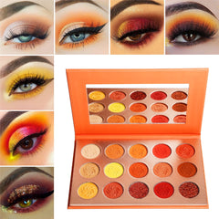 Orange Diamond Palette