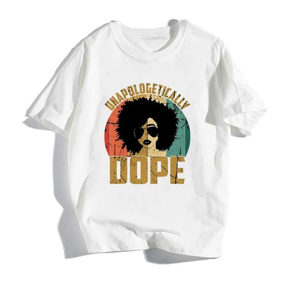Unapologetically Dope White T-Shirt