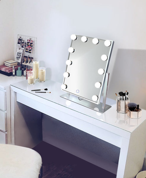 Silver Table top Vanity