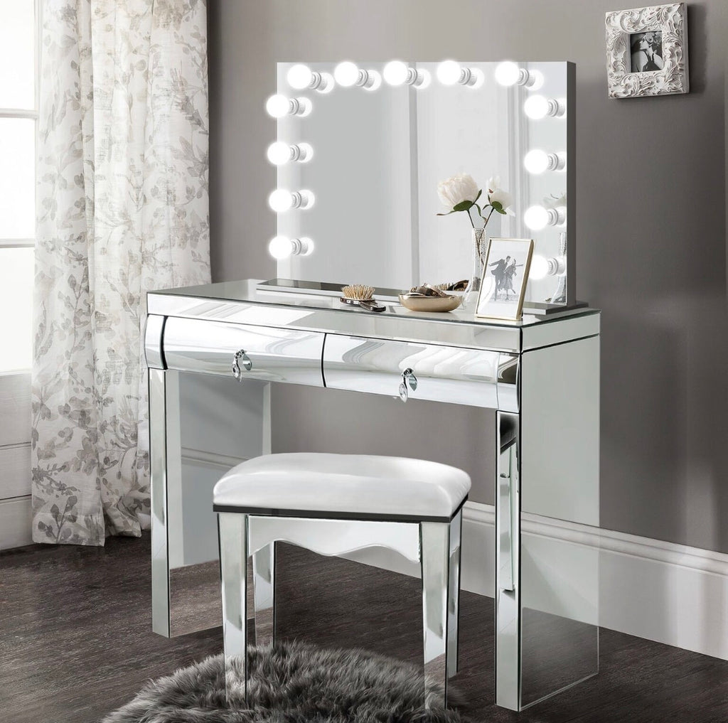 Mirrored Dimmable Hollywood Makeup Mirror