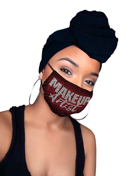 Makeup Artist  Face Mask & Headwrap