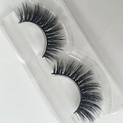 Myke Sylva x Glamorous Chicks Cosmetics Mink Lashes