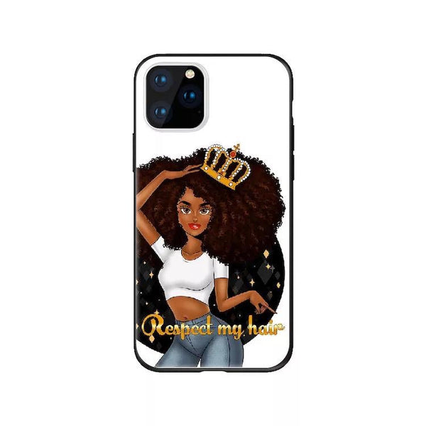 Respect My Hair IPhone Case