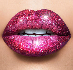 Ritzy, Red envy & 24 Karat glitter lips collection