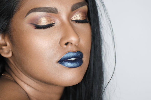 Default type -  - Rythm & Blues metallic matte liquid lipstick  - Water proof, Smudge proof, transfer proof,  and 24 hour stay Matte Liquid lipstick - Glamorous Chicks Cosmetics - 6