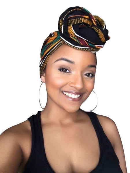 Sheer Royalty  Headwrap and Face Mask combo