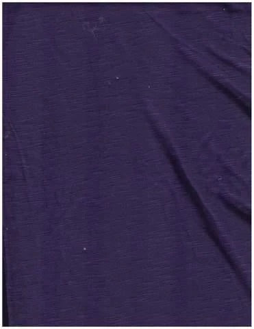 Purple Jersey Knit Stretched Fabric Slip On Headwrap