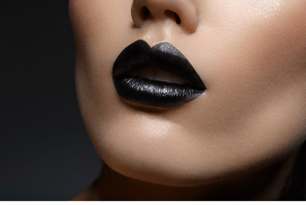 Midnight Black - Waterproof, smudge proof,  transfer proof,  and 24 hour stay BLACK Matte Liquid lipstick