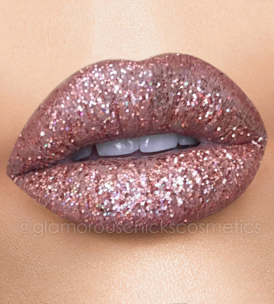 Perfect nude + miami nights glitter lips collection
