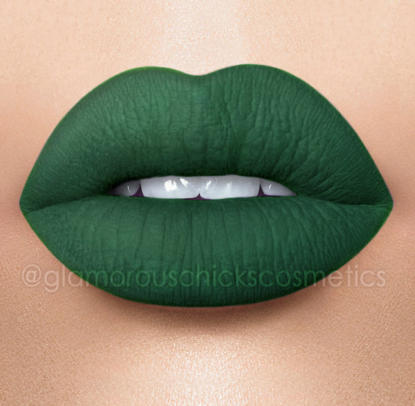 Green with Envy  12 hour stay Long lasting  Matte Liquid lipstick