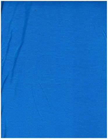 Blue Jersey Knit Stretched Fabric Slip On Headwrap