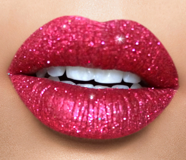 Limited edition Holiday  glitter lip set