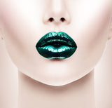 Lips -  - Money Green - Glamorous Chicks Cosmetics - 1