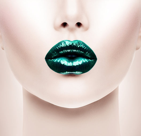 Lips -  - Emerald (Money Green) Semi Matte Liquid Lips - Glamorous Chicks Cosmetics - 1