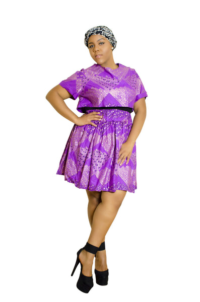 SKIN & HAIR CARE -  - African Skirt and shirt combo - Glamorous Chicks Cosmetics - 4