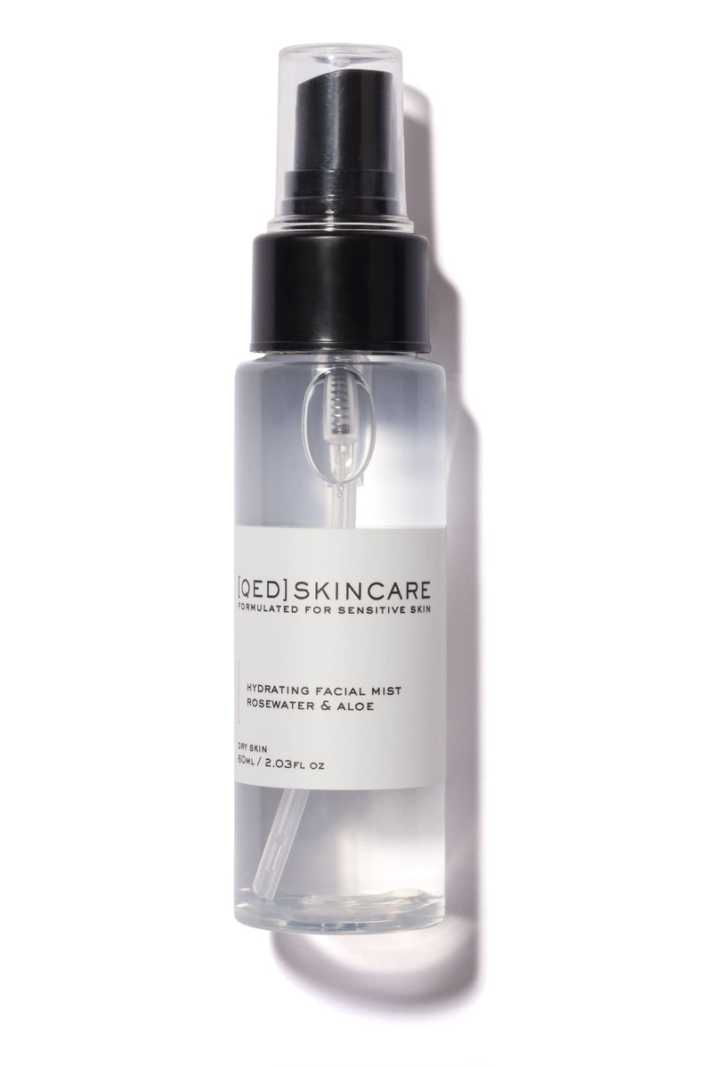 Hydrating Facial Mist - Rosewater + Aloe 60ml Mini - 60ml mini - face-toner