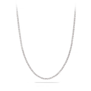 Medium, Box Chain, 2.7 mm, Sterling Silver Chain, 18 karat Yohan Rodrigani signature tag