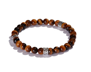 Infinita Bracelet with Forza, Tiger's Eye