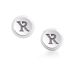 Sterling Silver Signature Circle Stud Earrings