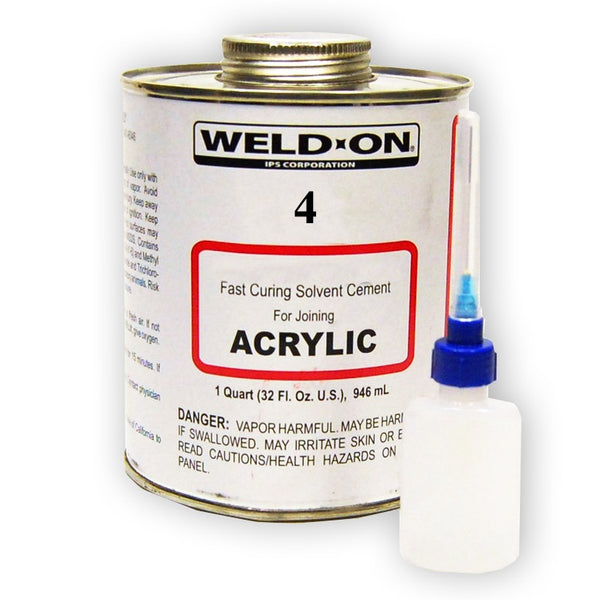 Weld-on #4 with applicator, 2oz