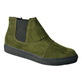 Vitto Chelsea sneakers green olive