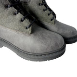 Robin grey boot microfibre and felt