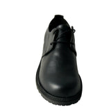 Denny derby smart shoes - Black microfibre
