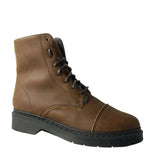 Doctor boot Lady cap toe Wool brown