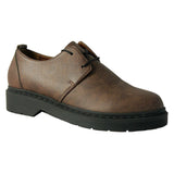 Doctor low derby brown microfibre