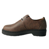 Doctor low man derby brown microfibre