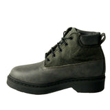 Robin man grey boot microfibre and felt