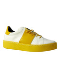 Alexa Sneaker - White and Mustard