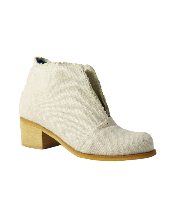 ankle boots hemp shoes