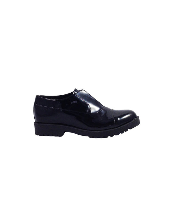 Vegan black shoes