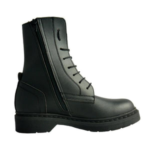 Greg man zipped boot black