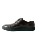 Harvey cap toe Oxford brown sneakers