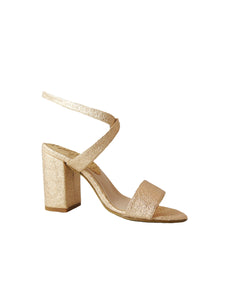 Rose gold vegan sandal BellaStoria