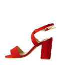 beautiful red vegan shoes BellaStoria