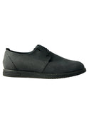 Kent derby smart shoes - Grey microfibre suede